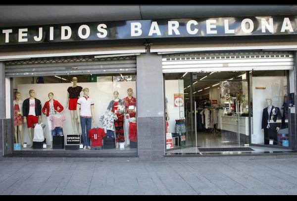 Tienda Tejidos Barcelona, Plaza Elíptica, 13 - Gandia
