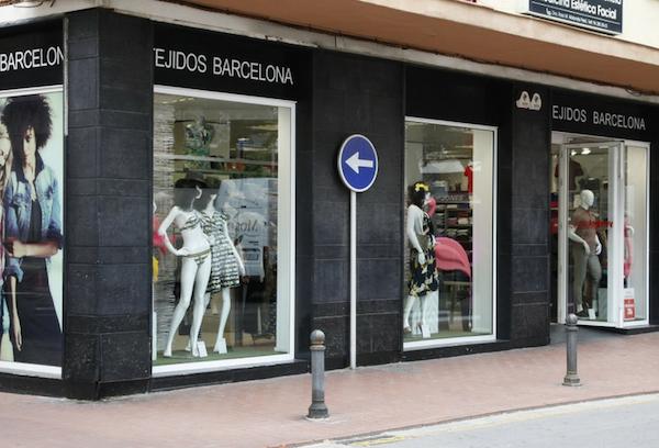 Tienda Tejidos Barcelona, Oliva