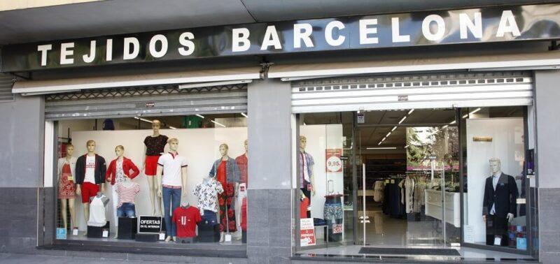 Tejidos Barcelona Tienda Plaza Elíptica Gandia